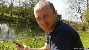 Owain James, cyclist killed in accident with distracted driver driving mini-bus.