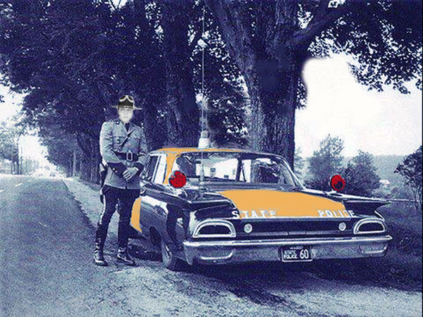 Florida Highway Trooper in the 1960s